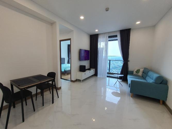 Căn hộ tầng 40 Sunwah Pearl ban công Tây Bắc, nội thất đầy đủ