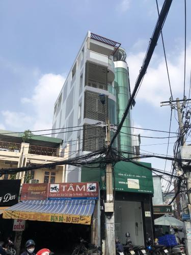 Mặt tiền nhà phố Quận Phú Nhuận Nhà phố mặt tiền đường Trần Huy Liệu diện tích 74m2, đầy đủ nội thất.