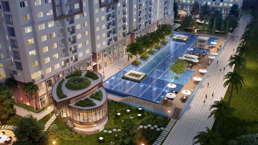 The Park Residence, Nhà Bè Căn hộ The Park Residence đầy đủ nội thất tiện nghi, hướng Đông Nam.