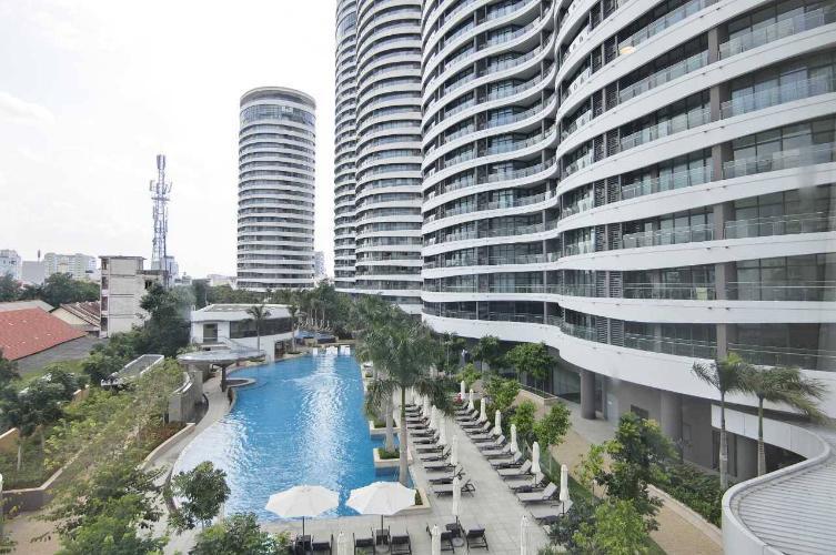 Căn hộ City Garden , Quận Bình Thạnh Căn hộ City Garden tầng 5 diện tích 70m2, đầy đủ nội thất.