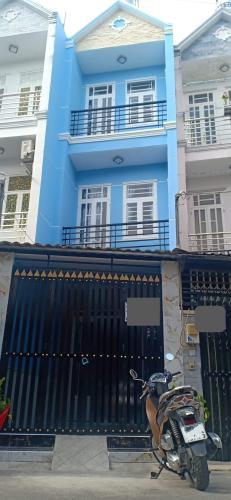 Nhà phố diện tích 106.5m2, hẻm xe hơi đường Lê Văn Lương dân cư đông đúc.