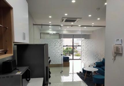 Căn hộ Officetel The Sun Avenue hướng cửa Đông Nam, nội thất đầy đủ.