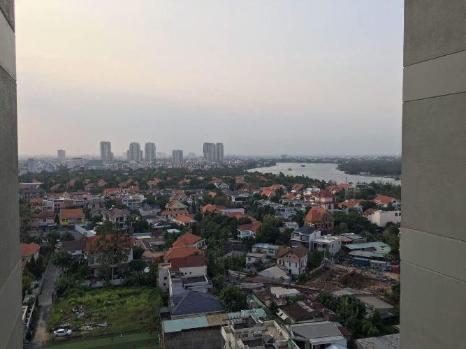 View căn hộ Masteri Thảo Điền, Quận 2 Căn hộ Masteri Thảo Điền tầng 16, view thành phố tuyệt đẹp.