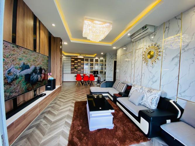 Phòng khách , Căn hộ Opal Riverside , Quận Thủ Đức Căn hộ Opal Riverside tầng 19 view sông thoáng mát, nội thất đầy đủ.