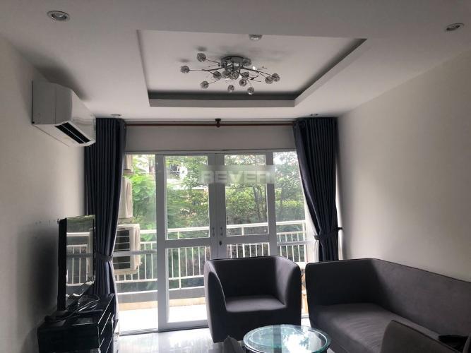 Căn hộ Chánh Hưng Giai Việt view cây xanh, đầy đủ nội thất.