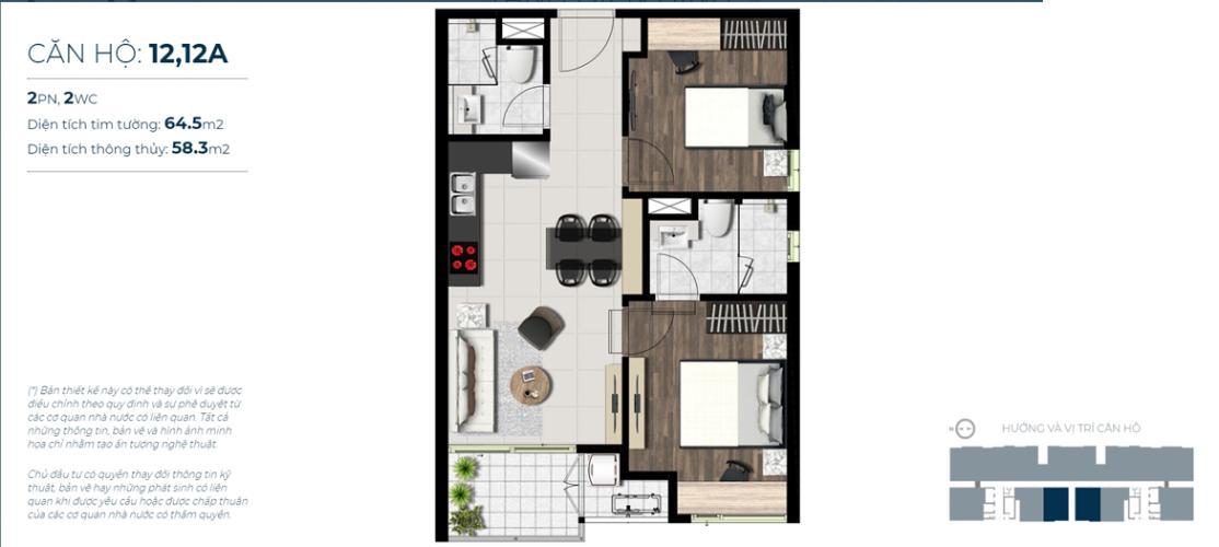 Căn hộ cao cấp Sky 89 An Gia nội thất cơ bản, tiện ích đầy đủ.