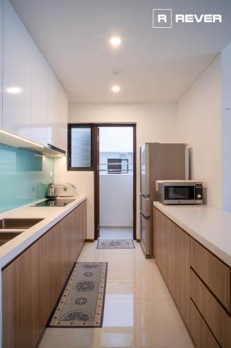 Phòng bếp One Verandah Quận 2 Căn hộ One Verandah đầy đủ nội thất, ban công thoáng mát.