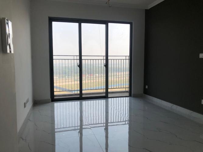 Căn hộ tầng 10 Palm Heights cửa hướng Nam, nội thất cơ bản.