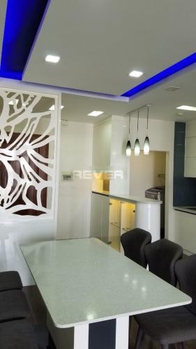 Phòng ăn chung cư Khánh Hội 3, Quận 4 Căn hộ chung cư Khánh Hội 3 view sông, đầy đủ nội thất.