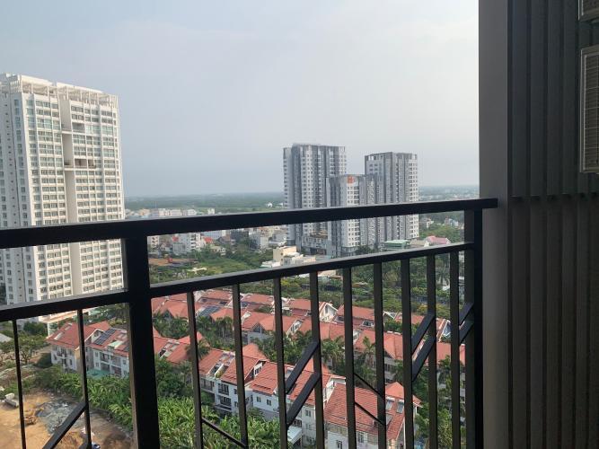 View Căn hộ Saigon South Residence ban công hướng Nam, view nội khu.