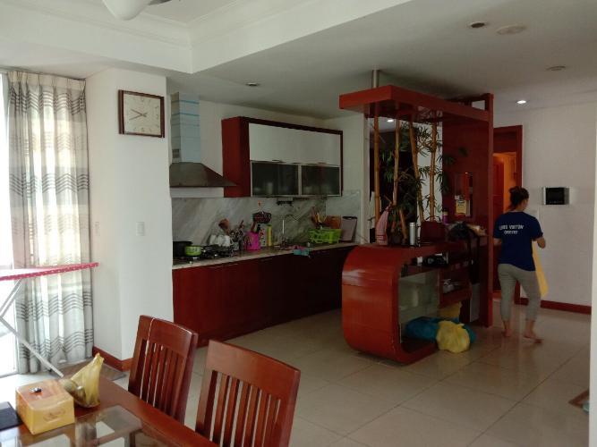 Phòng khách The Manor Quận Bình Thạnh Căn hộ The Manor ban công hướng Tây, nội thất đầy đủ.