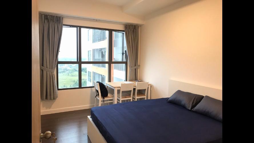 Phòng ngủ The Sun Avenue Căn hộ The Sun Avenue tầng trung, bàn giao nội thất tiện nghi.