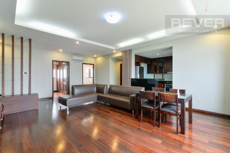 Căn hộ The Panorama tầng trung, đầy đủ nội thất.