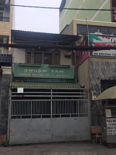 Nhà phố Q. Tân Phú diện tích sử dụng 154m2, hướng Tây.