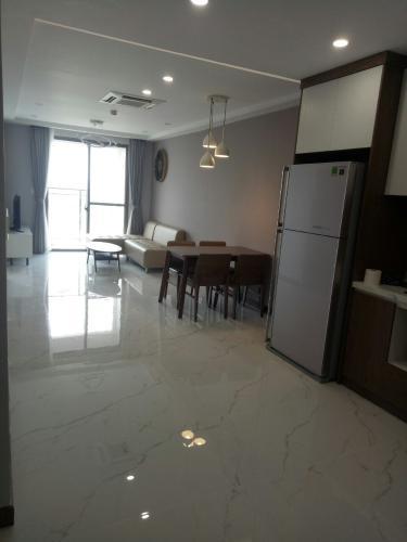 Căn hộ Saigon South Residence tầng trung, đầy đủ nội thất