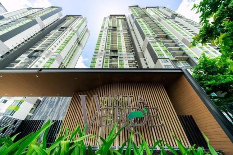 Vista Verde Căn hộ Duplex Vista Verde tầng trung, đầy đủ nội thất.
