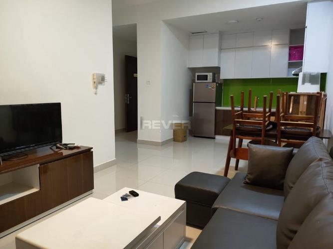 Phòng khách Moonlight Boulevard, Bình Tân Căn hộ Moonlight Boulevard tầng cao, ban công hướng Nam.