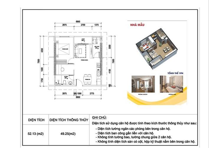 Căn hộ City Gate 3 khồng có nội thất, view hướng thoáng mát.