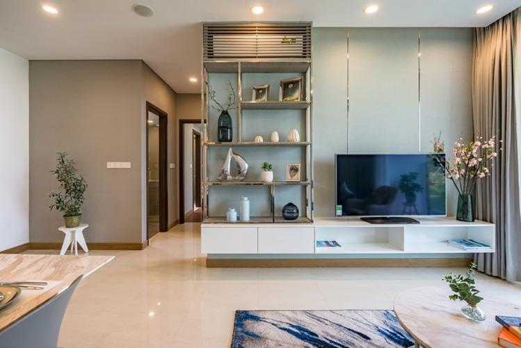 căn hộ mẫu ONE VERANDAH Bán căn hộ One Verandah 2 phòng ngủ, diện tích 80m2, view sông thoáng mát