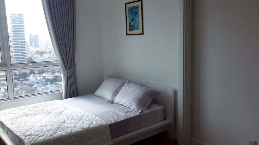 Phòng ngủ The Manor Quận Bình Thạnh Căn hộ cao cấp The Manor view thành phố, nội thất đầy đủ.