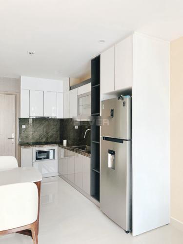 Phòng bếp căn hộ Vinhomes Grand Park, Quận 9 Căn hộ Vinhomes Grand Park đầy đủ nội thất, cửa hướng Tây Bắc.