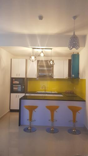 Bếp Cho thuê căn hộ The Sun Avenue tầng trung, diện tích 75m2, 2PN, ban công hướng Tây Nam