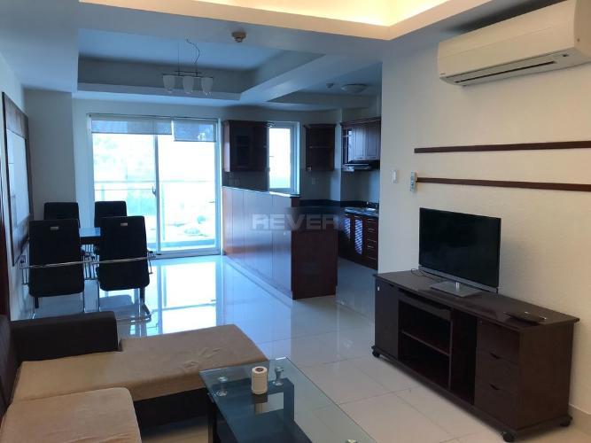 Căn hộ 107 Trương Định tầng 4 hướng Tây Bắc, đầy đủ nội thất.