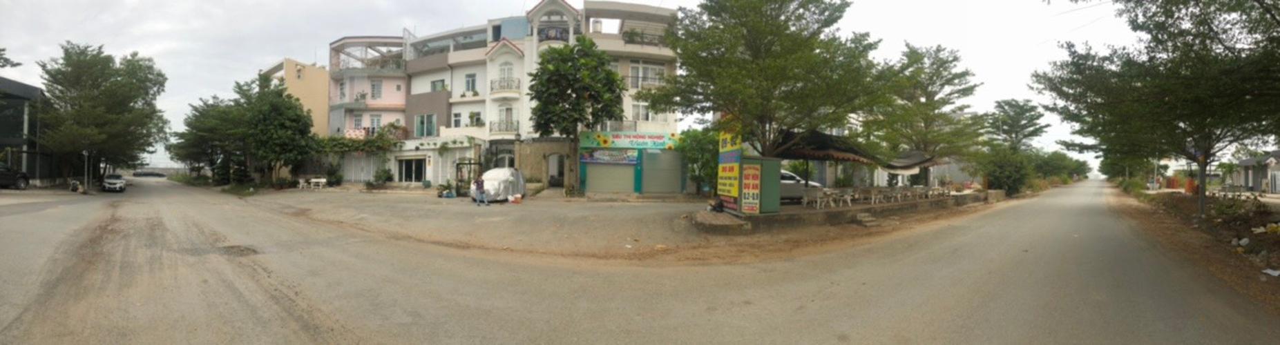 Đường nhà phố Quận 9 Nhà phố KDC Hoàng Anh Minh Tuấn Quận 9 nhà bàn giao đầy đủ nội thất.