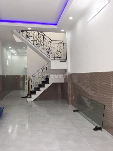 Phòng khách nhà phố Quận Bình Tân Nhà mặt tiền Bùi Tư Toàn Q.Bình Tân hướng Tây diện tích sử dụng 120m2.