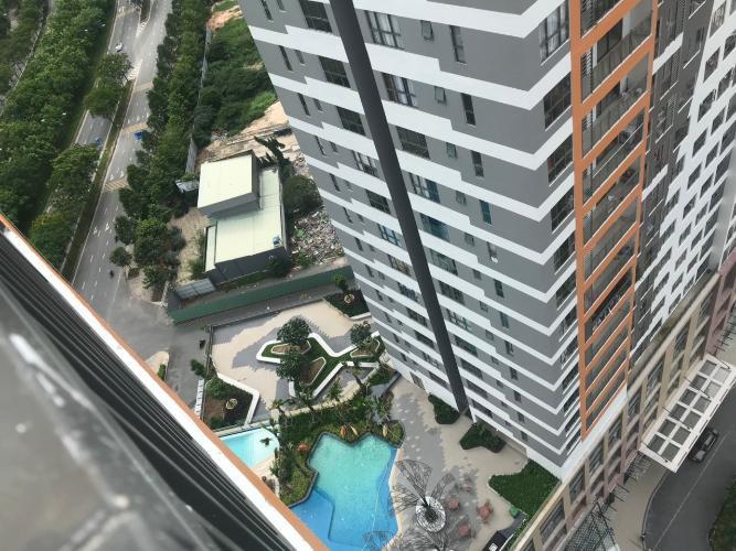 view cảnh căn hộ The Sun Căn hộ tầng 21 The Sun Avenue view thành phố và sông