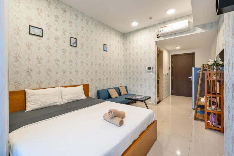 Căn hộ Rivergate Residence tầng 08 ban công hướng Đông Bắc nội thất đầy đủ