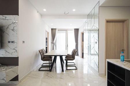 Căn hộ Phú Mỹ Hưng Midtown tầng thấp, đầy đủ nội thất, view nội khu.
