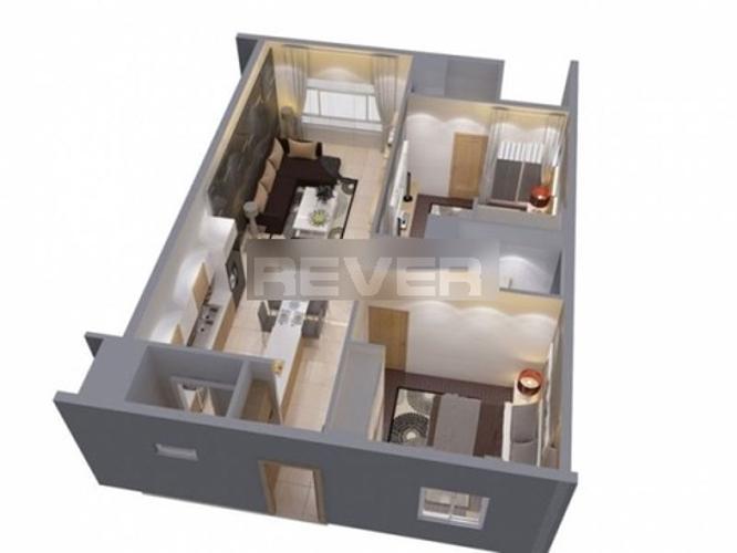 Căn hộ Green Hills Apartment tầng trung, nội thất cơ bản.