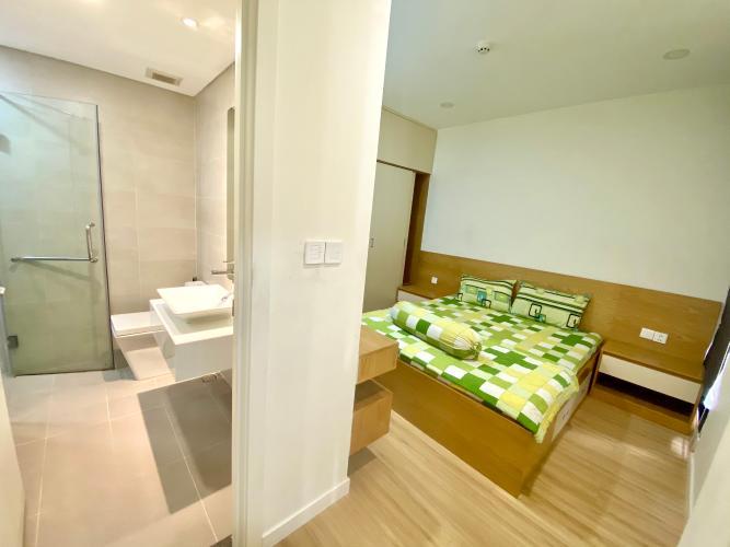 Phòng ngủ Masteri Millennium Quận 4 Căn hộ Masteri Millennium hướng Nam, đầy đủ nội thất.
