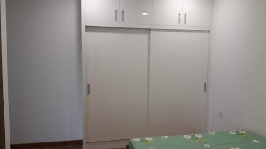 Phòng ngủ Eco Green Saigon Căn hộ Eco Green Saigon tầng trung, đầy đủ nội thất.