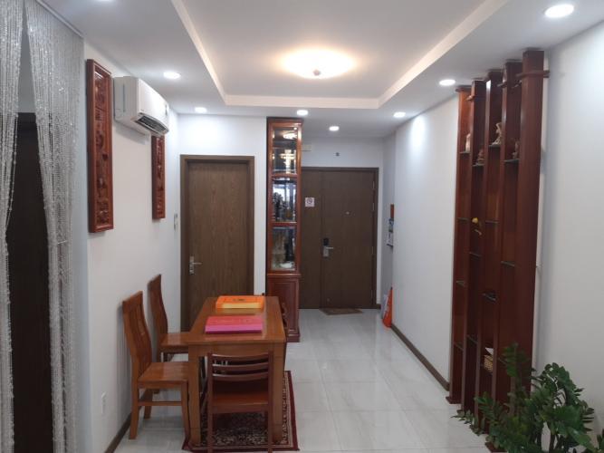 Không gian căn hộ Him Lam Phú An, Quận 9 Căn hộ Him Lam Phú An tầng 5 thiết kế hiện đại, đầy đủ nội thất.