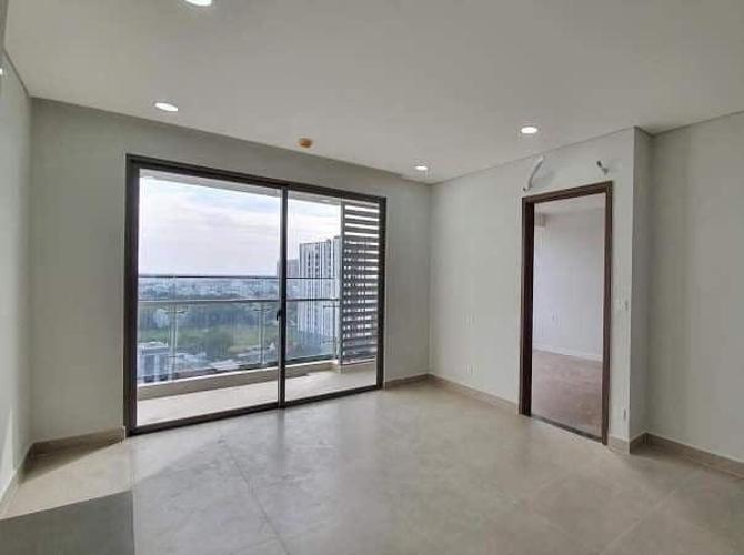 Phòng khách River Panorama, Quận 7 Căn hộ River Panorama tầng cao, ban công hướng Bắc.
