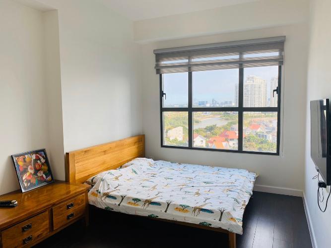 Phòng ngủ căn hộ The Sun Avenue Căn hộ The Sun Avenue nội thất cao cấp, view thành phố.