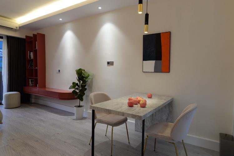 Không gian căn hộ 89-91 Nguyễn Du , Quận 1 Căn hộ 89-91 Nguyễn Du tầng 7 ban công hướng Đông, nội thất đầy đủ hiện đại.