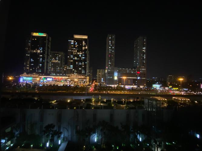 View ban công Masteri An Phú Quận 2 Căn hộ tầng trung Masteri An Phú, đầy đủ nội thất.