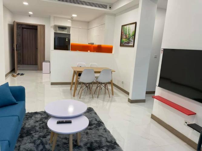 Căn hộ tầng 10 Sunwah Pearl view thoáng mát, đầy đủ nội thất.