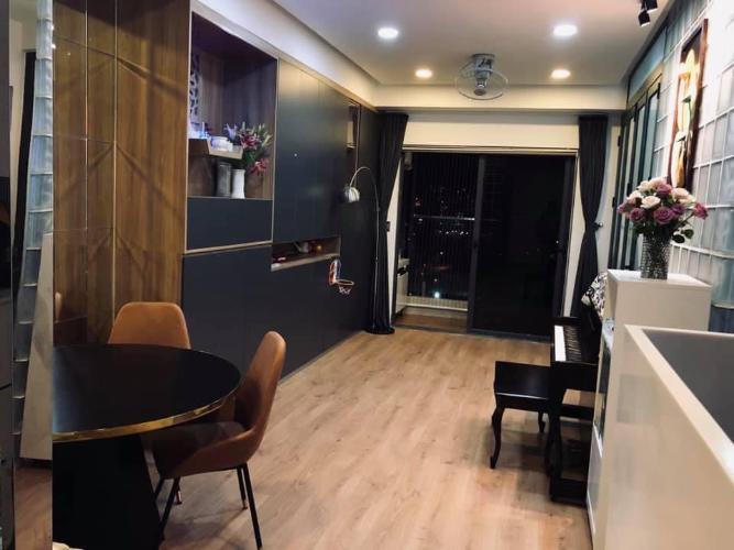Căn hộ De Capella  thiết kế hiện đại cách âm cực tốt, bàn giao đầy đủ nội thất.
