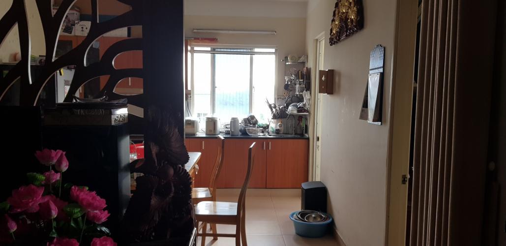 Căn hộ góc Chung cư Đông Hưng tầng 6, nội thất đầy đủ tiện nghi.