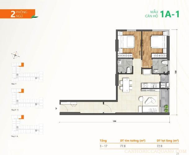 Bán căn hộ tầng 07 dự án Ricca, nội thất cơ bản