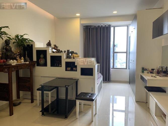 Căn hộ The Tresor diện tích 32.1m2 có 1 phòng ngủ, đầy đủ nội thất.