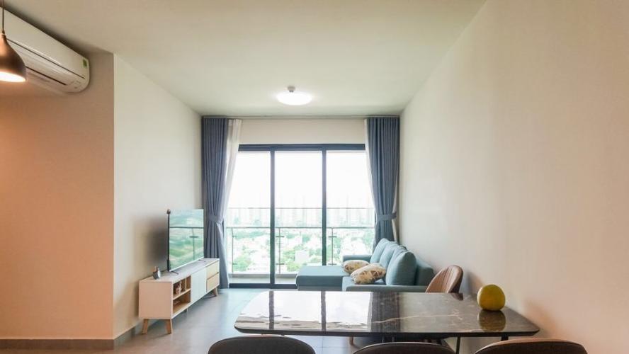 Căn hộ Feliz En Vista tầng cao đón view Landmark 81, đầy đủ nội thất.