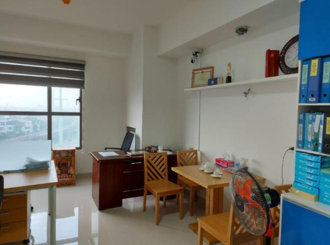 Căn Officetel The Sun Avenue tầng 5 nội thất cơ bản, tiện ích đầy đủ.