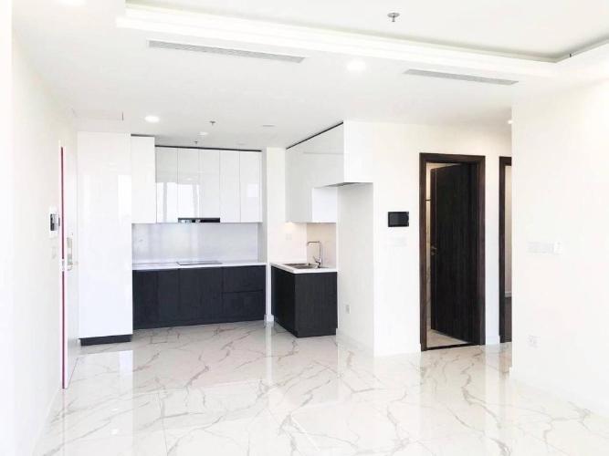 Căn hộ tầng 24 Sunshine City Saigon nội thất cơ bản bàn giao chủ đầu tư