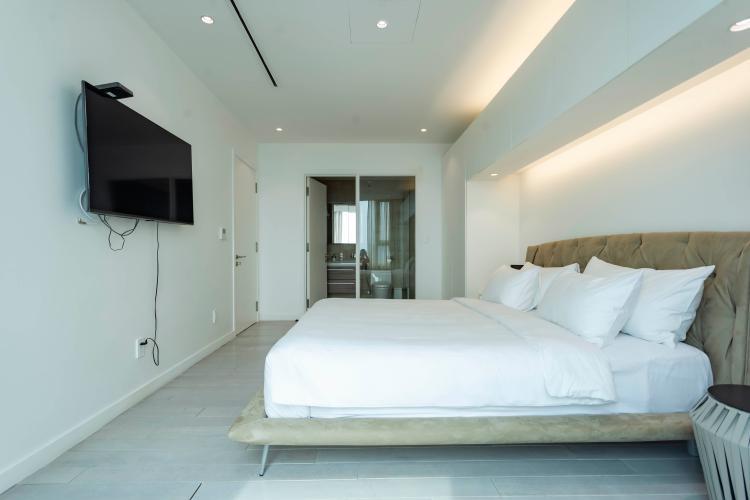 Phòng ngủ , Căn hộ Léman Luxury Apartment , Quận 3 Căn hộ Léman Luxury Apartments tầng 15 view đón gió, đầy đủ nội thất.
