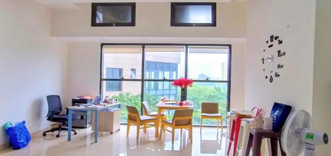Căn Officetel The Sun Avenue thiết kế hiện đại, view đón gió thoáng mát.